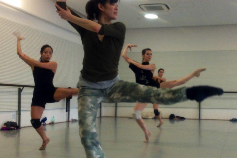 Uneven Rehearsal , Mikiko Arai, Erika Ishimaru, Thaïs França, Camila Ribeiro